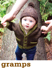Gramps Cardigan by Tin Can Knits