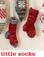 Little Socks by Tin Can Knits