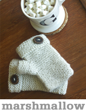 Marshmallow Mitts by Tin Can Knits
