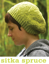 Sitka Spruce Hat and Mittens