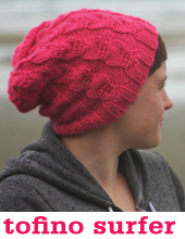 Tofino Surfer Toque by Tin Can Knits