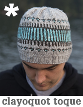 Clayoquot Toque by Tin Can Knits