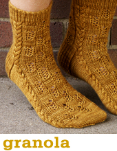 Granola Socks by Tin Can Knits