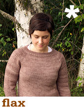 Flax Pullover by Tin Can Knits