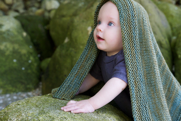 Knitting Pattern For Garter Stitch Baby Blanket : Garter Stitch, Stockinette Stitch, and Ribbing Tin Can Knits