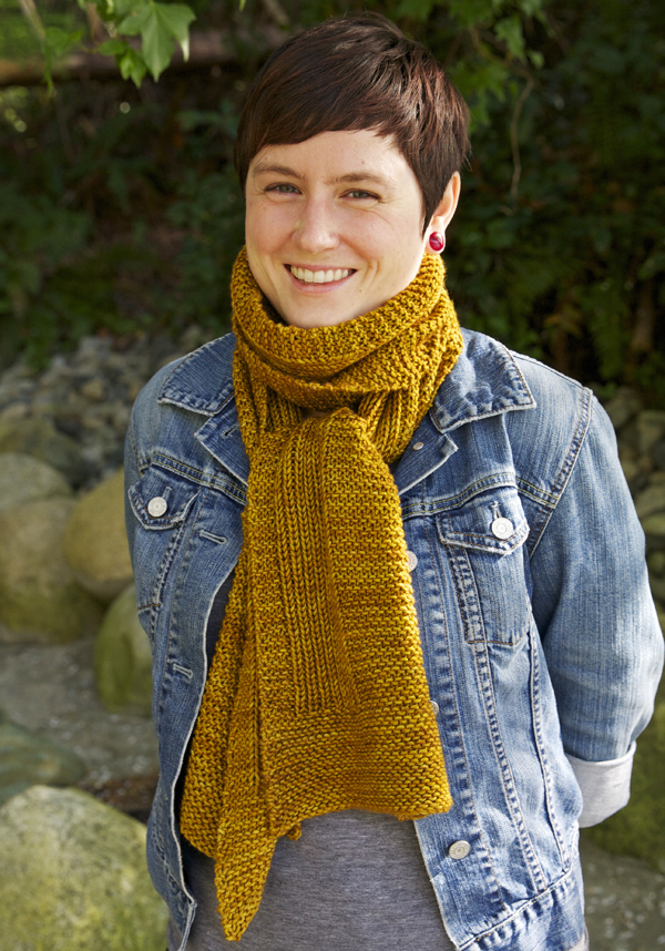 wheat scarf