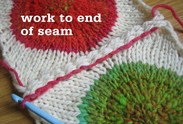 Slip Stitch Crochet Seam Tutorial Tin Can Knits
